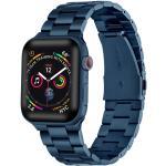 Apple Watch rozsdamentes. vastag acél szíj Kék. 42 / 44mm