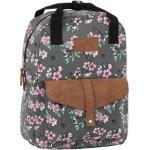 BackUp iskolatáska, hátizsák - 1 rekeszes - Lila virágok (PLB2CA24)