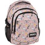 BackUp iskolatáska, hátizsák - 3 rekeszes - Mókás macskák (PLB2G62)