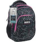 BackUp iskolatáska, hátizsák - 4 rekeszes - Színes pöttyök (PLB1A21)