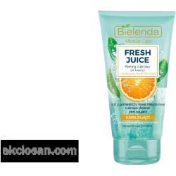 BIELENDA FRESH JUICE - hidratáló hatású cukorszemcsés arcpeeling 150 g