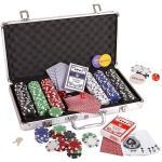 BigGame Ultimate póker szett lézeres zsetonokkal, fém kofferral, 300db