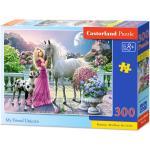 Castorland 300 db-os puzzle - Barátom az unikornis (B-030088)