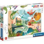 Clementoni 26065 - Sárkányok - 60 db-os Szuper Színes puzzle