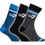 CR7 Gyerek zokni 3 darabos kék/szürke/fekete