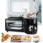 Családi Multifunkciós Reggelizõ állomás - 3 az egyben reggeli készítõ gép, grill funkcióval, kávéfõzõvel, kenyérpirítóval