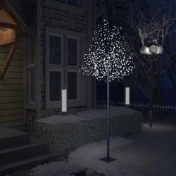 Cseresznyevirágos karácsonyfa 600 db hideg fehér LED-del 300 cm