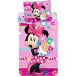 Disney Minnie ágyneműhuzat virágos 140x200cm 70x90cm