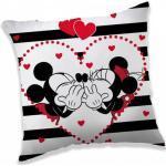 Disney Minnie és Mickey párna díszpárna love