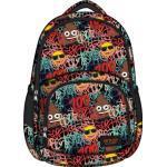 Emoji Graffiti hátizsák, iskolatáska - 3 rekeszes (242106)