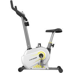 Fitness Szobakerékpár, 4 Kg-os lendkerékkel, max. terhelés 120 kg, Krém fehér
