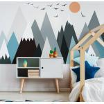 Giant Kid Sticker Scandinavian Mountains Parka falmatrica - Ambiance