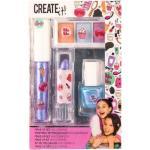 Gyerek smink készlet, mini, 6 db-os szett, holografikus színekkel, 6+, Create it