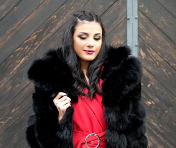 Alkalmi ruhához elegáns kabát