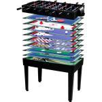 Játékasztal GamesPlanet® Multigame 15in1 Fekete