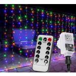 Karácsonyi fényfüggöny 3x6m/600x LED - színes
