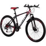 Laux Jack mountain bike piros -fekete hagyományos küllõs kivitel