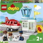 LEGO DUPLO Város: Repülõgép és repülõtér 10961