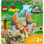 LEGODuplo Jurassic World: T-Rex és Triceratops dinoszaurusz szökés 10939