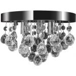 Mennyezeti függõ lámpa kristály csillár króm