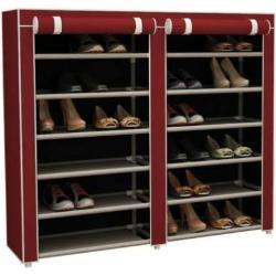 Mobil cipõtároló szekrény (bordó)