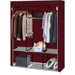 Mobil ruhásszekrény 130x45x170 cm-es méretben