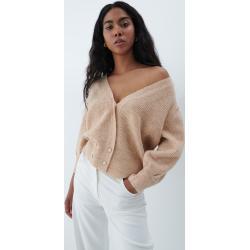 Mohito - Oversize pulóver Eco Aware - Bézs