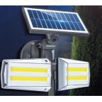 Napelemes kültéri fény- és mozgásérzékelõs lámpa