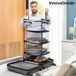 Összecsukható, hordozható, polcos egység a poggyász szervezéséhez Sleekbag InnovaGoods