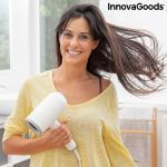 Összecsukható ionos hajszárító és kiegészítõk Ventio InnovaGoods 1600W Fehér/szürke