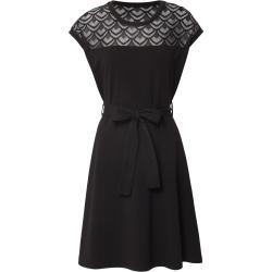 Only Ruha 'Onlbilla S/l Lace Dress Jrs' Fekete