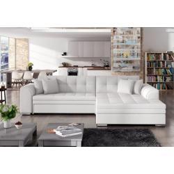 PALERMO ágyazható sarok ülõgarnitúra, 294x80x196 cm, soft 017/white, jobbos