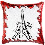 Paris Eiffel Torony Simiflitteres Varázspárnahuzat - Párizs francia eiffel torony
