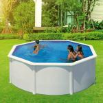 PONTAQUA WHITE 3,50 x 1,20 m családi merevfalú medence