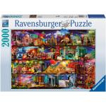 Ravensburger 2000 db-os puzzle - A könyvek világa (16685)