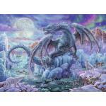 Ravensburger 500 db-os puzzle - Misztikus sárkány (14839)