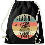 Reading Is My Favourite Sport Pamut Tornazsák - Olvasás reading könyvek