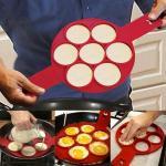 Szilikon tojás- és palacsintasütõ forma