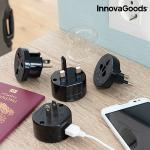 Univerzális utazó csatlakozó adapter Electrip InnovaGoods