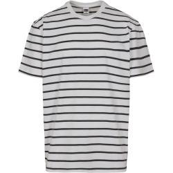 Urban Classics Póló fekete / fehér