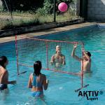Úszó röplabda állvány hálóval Amaya