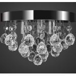 vidaXL Mennyezeti függõ lámpa kristály csillár króm