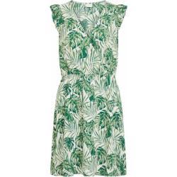 VILA Nyári ruhák 'SANNE' zöld / világoszöld / sötétzöld / természetes fehér