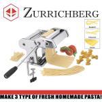 Zurrichberg 3 Funkciós Tésztakészítõ és Tésztavágó Gép